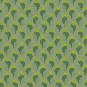 Emerald Snail Shells