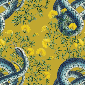 Slither in Mustard