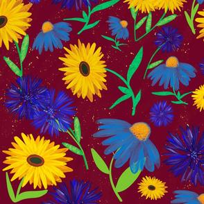 Bold daisies