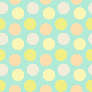 abstract polka dots