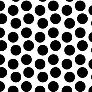 big size polka dots