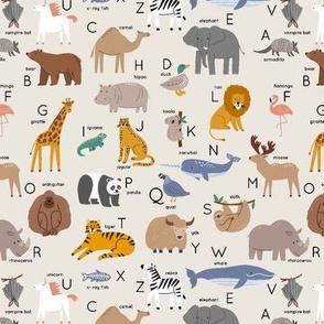 ABC - cute animals alphabet