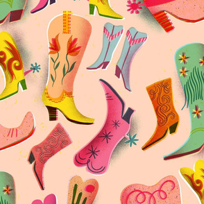 fancy boots collection // large scale