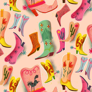 fancy boots collection // medium scale