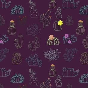 Wild cactus plum