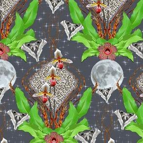 moonlit jungle