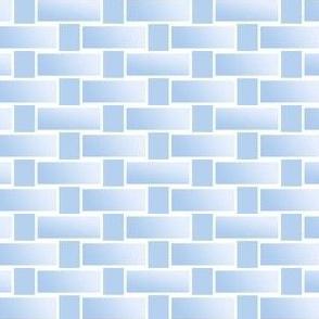 pale blue breeze blocks