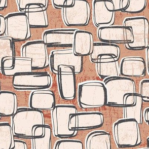 Abstract Geo Brown-nanditasingh