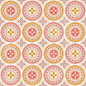 Pink and yellow motifs-nanditasingh