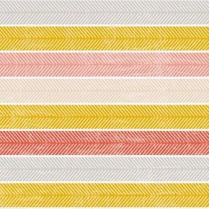 Pink and yellow stripes-nanditasingh
