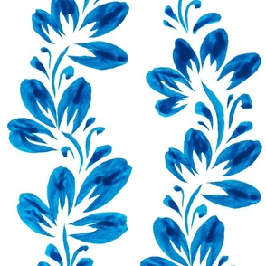 Tribal Modern Ethnic Ornament #3  with Traditional Ancient Symbol Element - Colorful Line Geometric Pattern - Scarlet Red Orange Blue Green Gray White on Deep Purple - Middle
