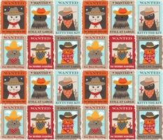 145 Wanted Cowboy Cats