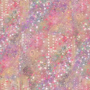 Pink Purple Gold Abstract Texture