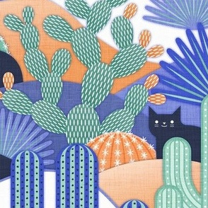 Cats and Cacti