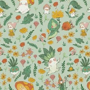 Autumn Fairy Friends
