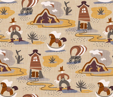 Linen Wild West