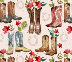 Western Boots - Large