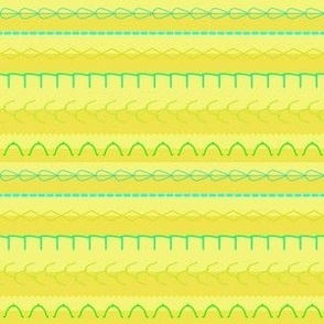 Stitches N' Stripes Seaside-Tan