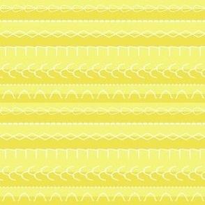 Stitches N' Stripes White-Tan