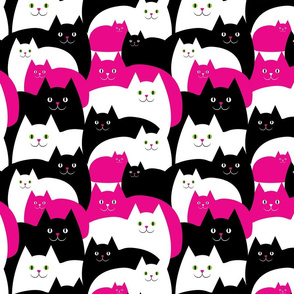 If Cats Were Pink -Small Print