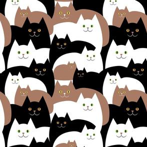 Happy Cats - Smaller