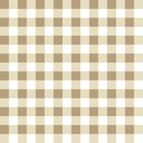 Small Gingham in Olive and Moss Green Cottagecore check plaid