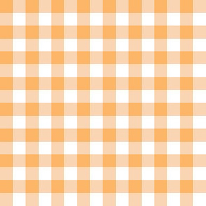 Small Yellow Gingham Golden Sunny Bright Cottagecore Check Plaid
