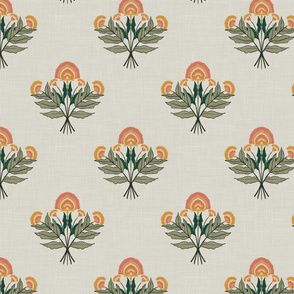 Sunset Floral (White)