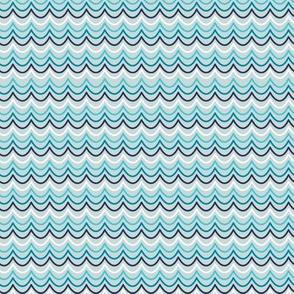Deep Blue Sea-Blue Waves