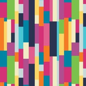Deep Blue Sea-Colorful Blocks