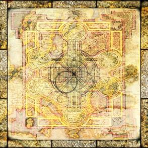 Book of Kells Mandala