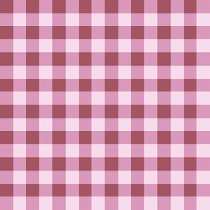 Small Purple Gingham Lavender Check Lilac Plaid cottagecore traditional