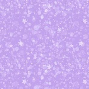 Lavender Starry Galaxy