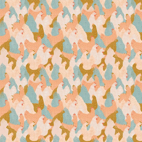 Chicken Pattern   Small