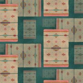 Saddle Blanket Stripe {Cactus}