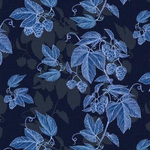 Hops shadows-ice blue
