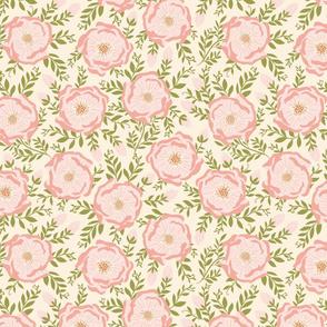 Spring Blooms light Pink by DEINKI