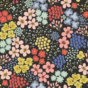 Prairie in Bloom Black by DEINKI