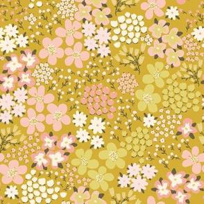 Prairie in Bloom Yellow by DEINKI