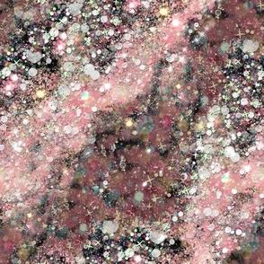 Pink Abstract Galaxy
