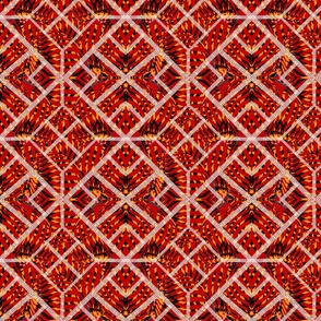 Lynett Patchwork Basket Weave