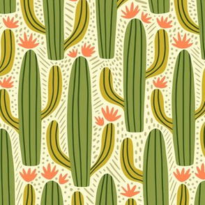 Cactus Country - Large Scale Green Coral