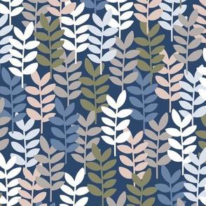 Scandi Ferns Heather
