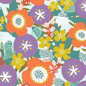 Radiant Floral Spring Fun
