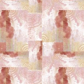 Pink and Cream Abstract