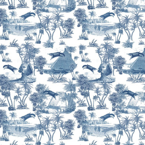 Giant flying squirrel attack toile-