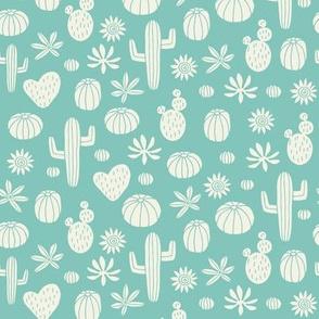 Llama Cactus mint(mini)