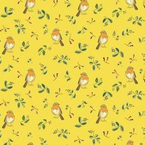 robin small illuminating yellow