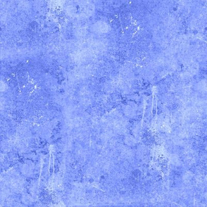 Blue Drippy Painted Canvas