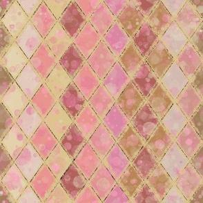 Harlequin Blush Pink and Cream